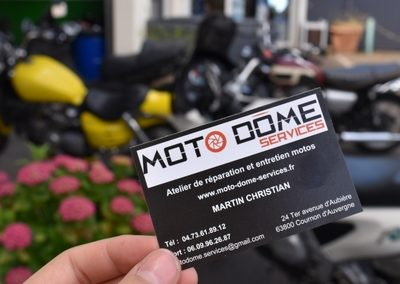 Moto Dome Services (84) reparation moto Clermont Ferrand